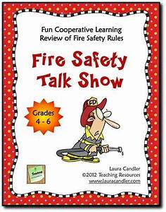 Freebie for Fire Prevention Month! Fire Safety Talk Show ...