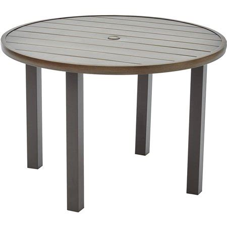 farmhouse patio table better homes and gardens camrose farmhouse outdoor mix and