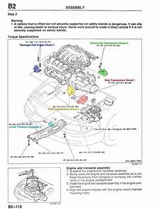 2007 Mazda 3 Motor Mount Locations
