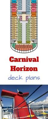 carnival horizon deck plans cruise radio