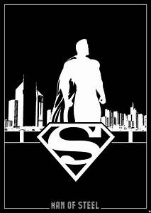Superman Silhouette Vector images