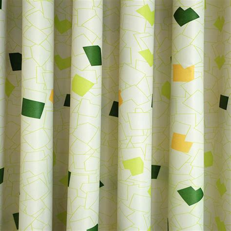 Geometric Pattern Window Curtains by Geometric Patterned Curtains Rooms