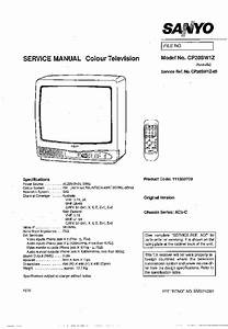 Sanyo Ac5c Chassis Cp20sw1z Tv Sm Service Manual Download