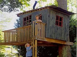 Baumhäuser Für Kinder : baumhaus selber bauen erf llen sie sich den traum vom baumhaus pictures to pin on pinterest ~ Eleganceandgraceweddings.com Haus und Dekorationen