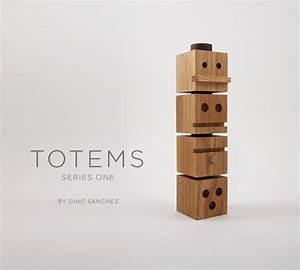 TOTEMS Wooden Building Blocks by Dino Sanchez - Design Milk
