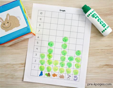 pets theme activities and centers for preschool 740 | Pet Theme Graph Activity for Preschool