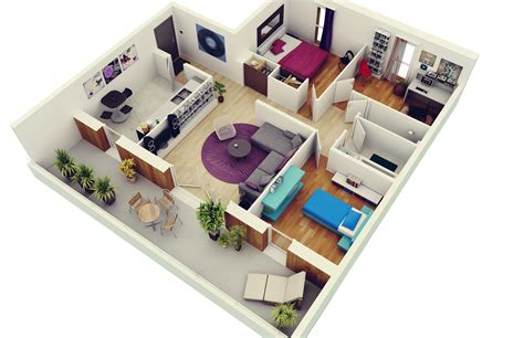 3 room apartement in the green apartments for rent in 3 bedroom apartment house plans