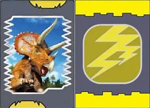 Image - Chomp card with back.jpg - Dinosaur King - Wikia ...