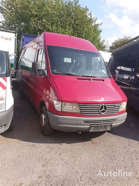Shop with afterpay on eligible items. MERCEDES-BENZ Sprinter 412 passenger van for sale Belgium ...
