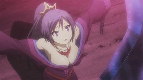 Purple Haired Maiden From The Upcoming Seisen Cerberus