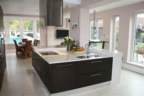 modern kitchen island with hob large contemporary square kitchen island built to