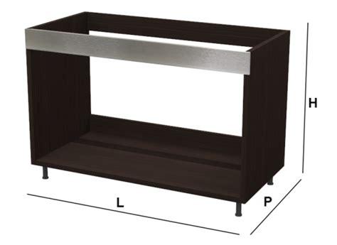 mobile base per lavello cucina base lavello kitchen silver su misura