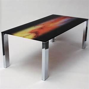 Tv Tisch Aus Glas : glas esstisch mit motiv the wave 2000 x 1000 mm ~ Bigdaddyawards.com Haus und Dekorationen