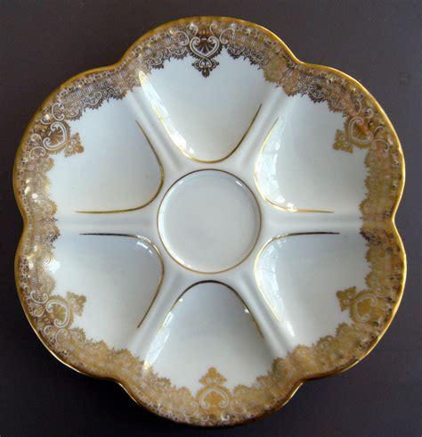 cuisine limoges 8 matched limoges oyster plates higgins seiter c 1895