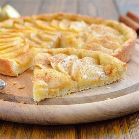 tarte aux pommes pate feuilletee creme fraiche recette tarte aux pommes 224 la cannelle facile rapide