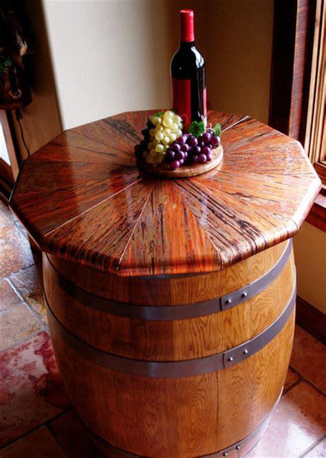 wine barrel copper table  dchi  lumberjockscom