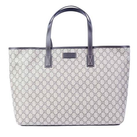 gucci  gg monogram tote large luxity