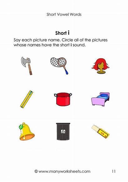Short Kindergarten Phonics Worksheets Worksheet Vowels