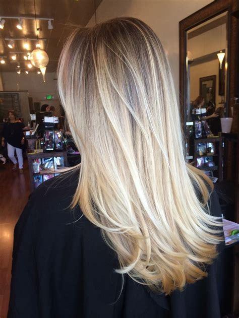 California blend hair color   Gentlemen prefer blonde