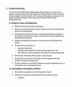 7 it project plan templates sample templates With example of a project plan template