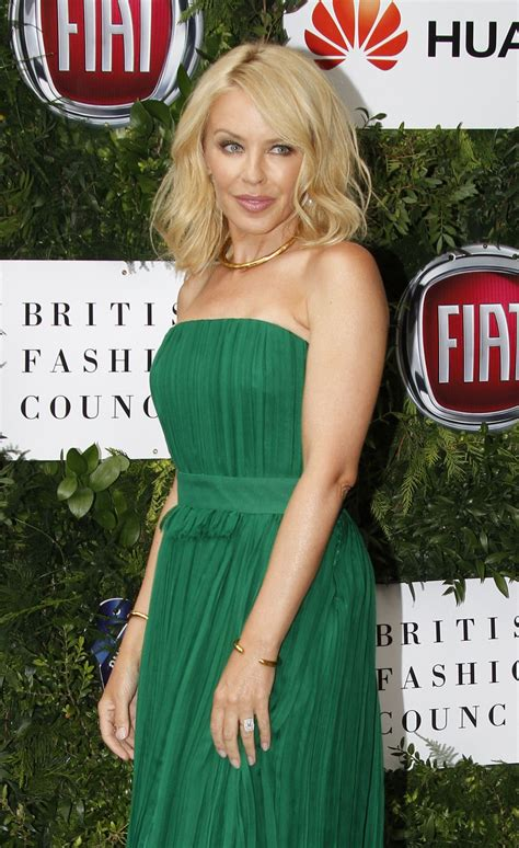 KYLIE MINOGUE at One for the Boys Charity Fashion Ball in ...