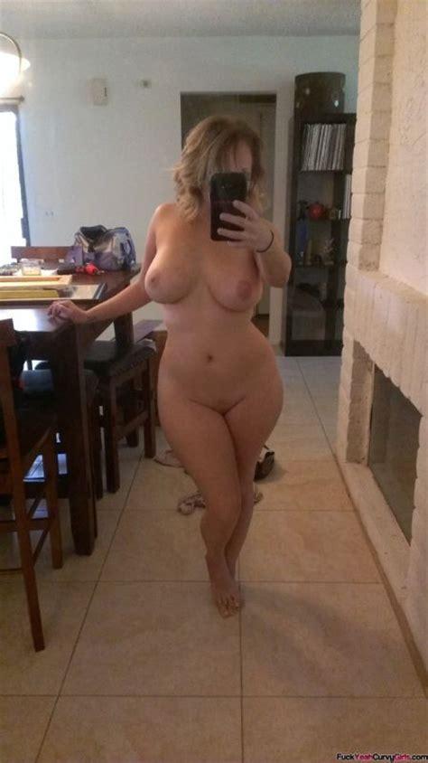 Curvy Fit Woman Selfie