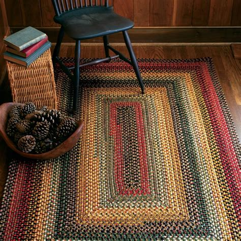 buy budapest multi color wool braid rugs  homespice