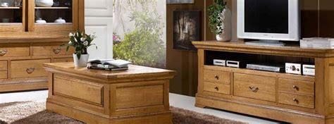 salon rustique bella en ch 234 ne massif meubles bois massif
