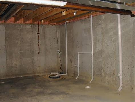 moisture  basement walls