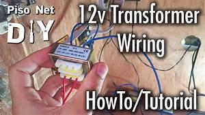Pisonet Diy  12v Transformer Wiring Tutorial  Tagalog