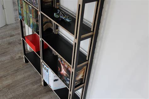 dvd regal schwarz dvd regal in mdf oder schwarz birke multiplex auch f 252 r b 252 cher sehr gut