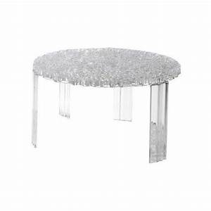 Kartell 8502B4 Table Basse T Table Transparent Achat