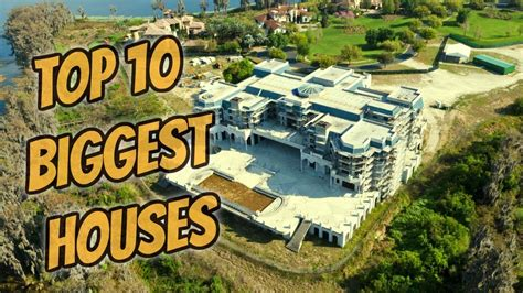 Top 10 Biggest Houses In The World Youtube
