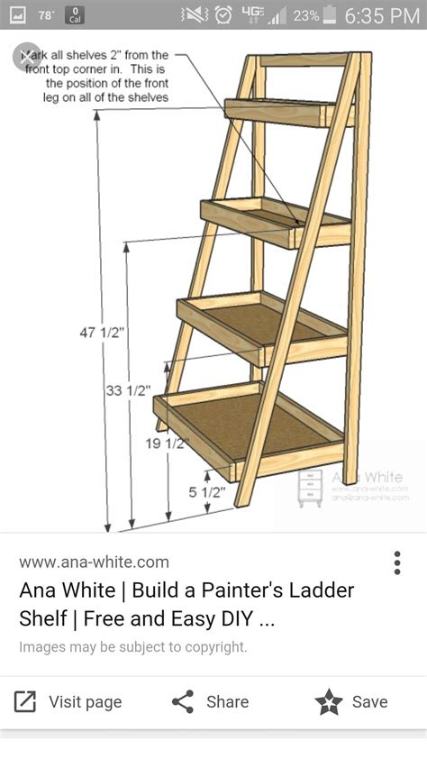 Ladder Bookcase Plans by Pin By Jess Lord On A Lesson Ideas Regal