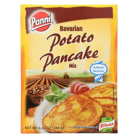 These vegan potato pancakes are perfect for a savory breakfast or dinner! Panni Potato Pancake Mix Recipe / Panni Bavarian Potato Pancake Mix 12 Boxes 6 63 Oz Ea Reviews ...