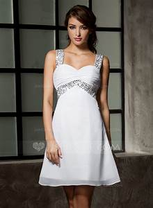 empire sweetheart short mini chiffon homecoming dress with With robe forme empire