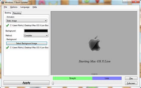 mac os x lion boot screen for windows 7 technoarea