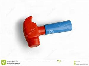 Hammer, A Plastic Toy Royalty Free Stock Photo - Image ...