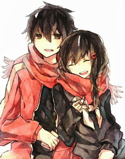 anime mekaku city actors anime couples pinterest