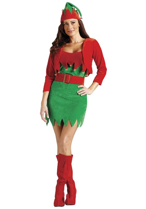 sexy christmas elfalicious costume womens sexy christmas elf costumes