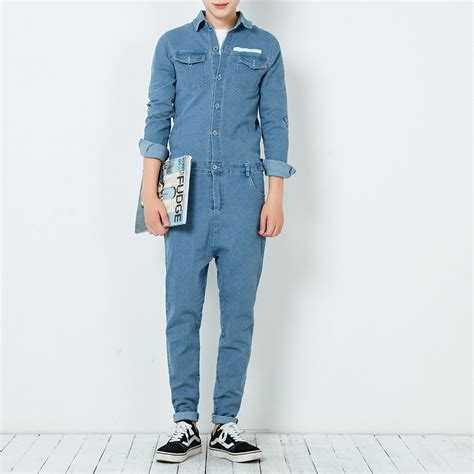 mens jumpsuit aliexpress com buy 2017 autumn mens jumpsuit