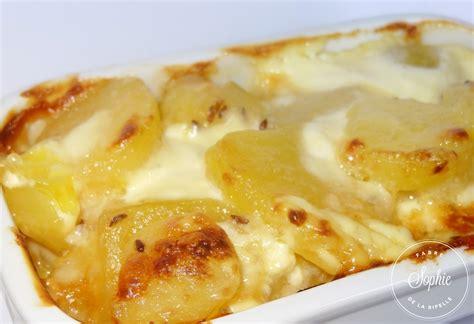 cuisiner des pommes de terre gratin de pommes de terres au munster et cumin la