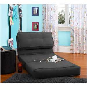 new black fold flip out chair convertible sleeper bed room ebay