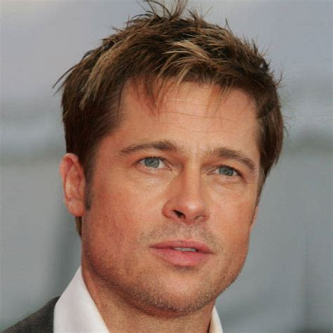 Brad Pitt Cool Hairstyle   Men Hairstyles , Short, Long