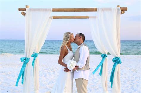 Beach Wedding : Sunshine Wedding Company-destin Beach Weddings