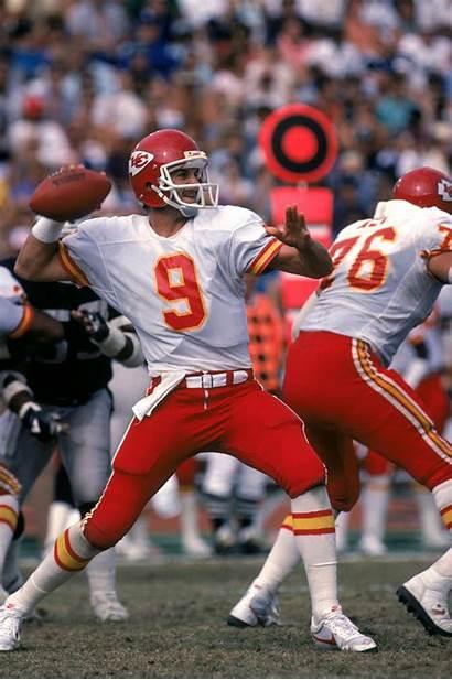 Chiefs Kansas Quarterback Bill Kenney Decade Seasons