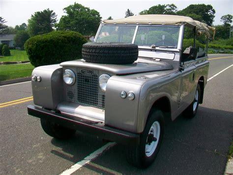 1965 Land Rover Series IIa 88 | Antique Auto Sales ...