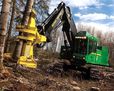 tracked feller buncher forestry pinterest heavy
