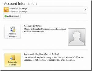 outlook 2010 out of office signature With ooo mail template