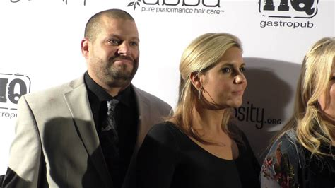 Jarrod Schulz And Brandi Passante At The Glam Beverly